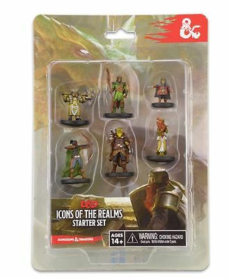 D&D Miniatures - Icons of the Realms Starter Pack - Version 2