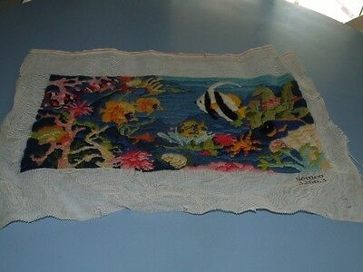 Long Stitch - Semco - Tropical Fish -  Completed