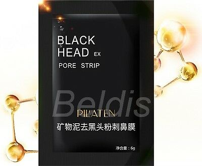 20x BLACK HEAD KILLER PEEL OFF SCHWARZE MASKE GESICHTSMASKE MITESSER PICKEL AKNE