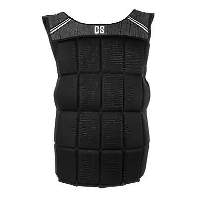 Capital Sports Weighted Vest Nylon Belt Durable Strength Training Athletic Gym