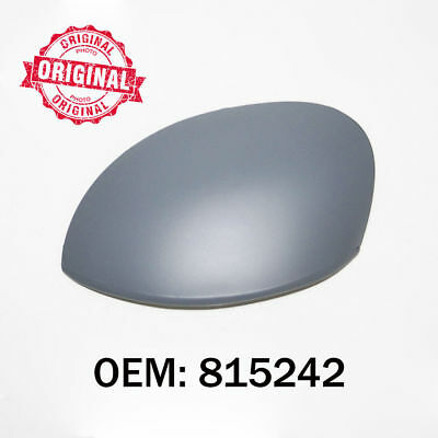 Left Side Wing Mirror Cover Cap Casing Primed Compatible With Leon 2005 Onwards OEM 1P0857537GRU