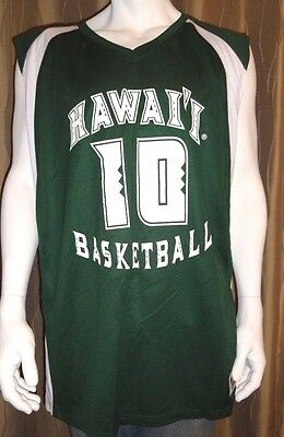 Hawaii Womens Basketball Jersey #10 Game Quality ReversIble M/LG/XL/XXL  NWT $75