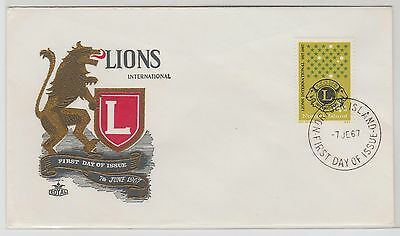 Norfolk Island Lions International First Day Cover 1967