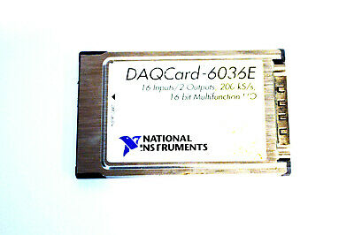 *USA SELLER* National Instruments NI DAQCARD-6036E 188035C-01