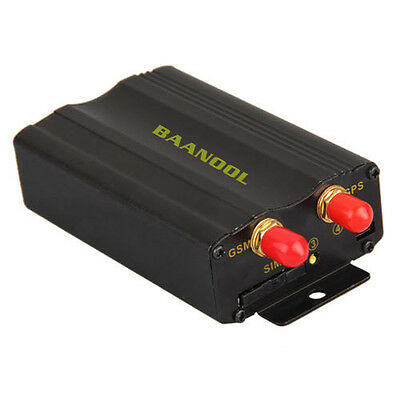 BANNOOL Car Vehicle Tracker Tracking Device for GSM GPRS GPS System 12V