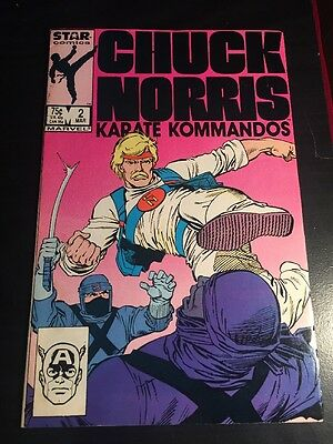 Chuck Norris#2 Incredible Condition 9.0(1987) Ditko Art, Cool!!