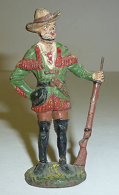 Plastinol Germany Wildwest Figur Cowboy 8,5 cm Trapper Karl May Serie (?)