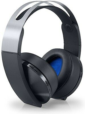 Sony PlayStation 4 Platinum Wireless Headset (New)