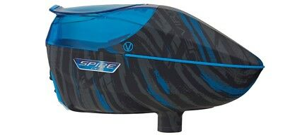 Virtue Spire 260 Paintball Loader - Graphic Cyan