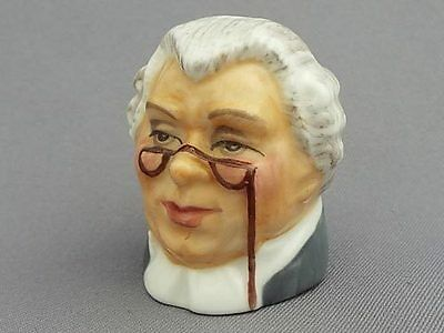 Francesca Character Head Thimble - Sergeant Buz Fuz, Dickens Collection
