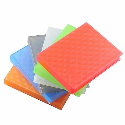 "6pcs 2.5"" HARD DISK DRIVE HDD PROTECTION STORAGE BOX CASE TANK Colour"