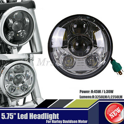 For Harley Davidson 5-3/4 5.75 Inch Daymaker Projector Cree 9 LED Headlight E9
