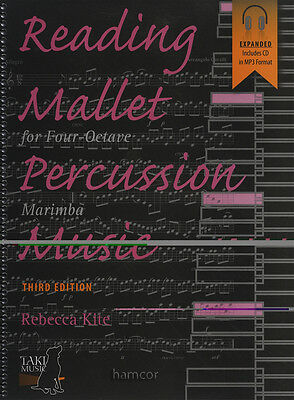 Reading Mallet Percussion Music for Four-Octave Marimba Book/MP3CD