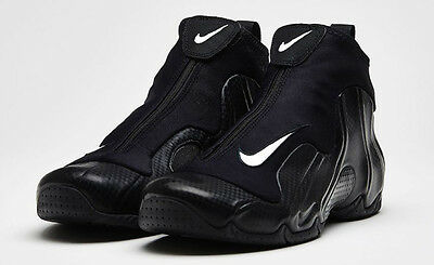 Nike Air Flightposite 2014 Carbon Fiber Black 624307001 Foamposite