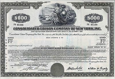 Consolidated Edison Company of NY, 6,85% Mortgage Bond Ser.FF 1976 (5.000 $)
