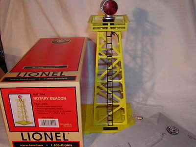 Lionel 6-81944 Rotary Beacon O 027 New MIB 2015 Yellow with Red and Green Light