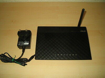 Asus Rt-N10E Wireless N Cable Router Access Point 12V 0.5A