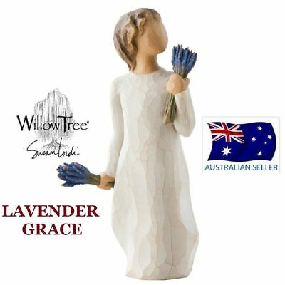 LAVENDER GRACE Demdaco Willow Tree Figurine By Susan Lordi BRAND NEW IN BOX