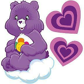Care Bear Movable Wall Stickers
