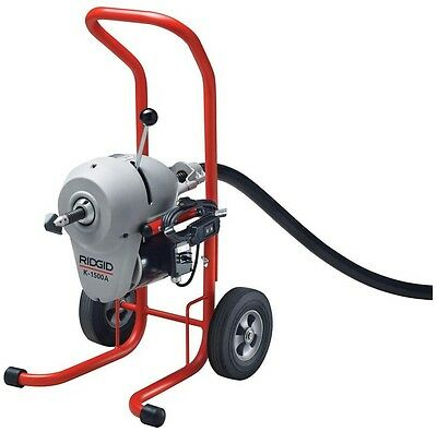 Sewer and Drain Cleaning Machine RIDGID 3/4 HP Motor 115-Volt Models Steel Frame