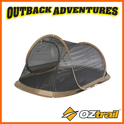 OZtrail BLITZ 2 MESH INSTANT POP UP QUICK PITCH MOZZIE TENT DOME SCREEN SHELTER