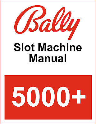 Bally 5000+ Operator Instructions Manual PDF