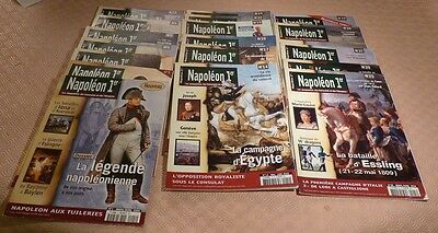 "Collection de revues ""NAPOLÉON 1er le magazine du Consulat et de l'Empire""."