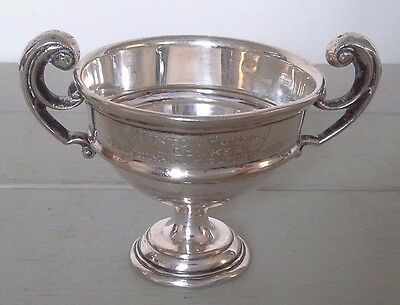 Vintage silver trophy, silver, trophy, sporting trophy, trophies, antiques