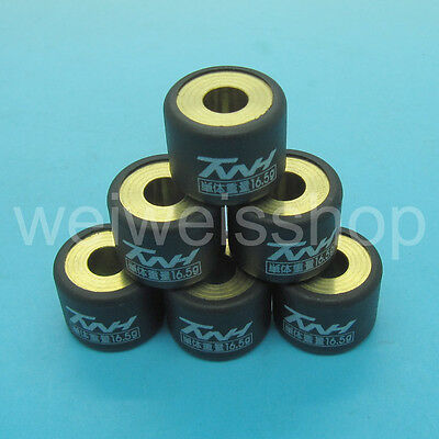TWH Performance Racing Pulley Roller Weight 16.5g GY6 125 150 1P52QMI 1P57QMJ