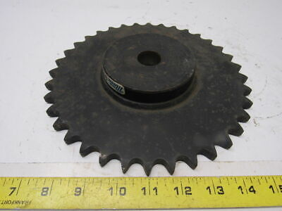 "Marathon Electric 60B36 #60 Single Row Sprocket 1"" Bore to Size 36 Tooth"