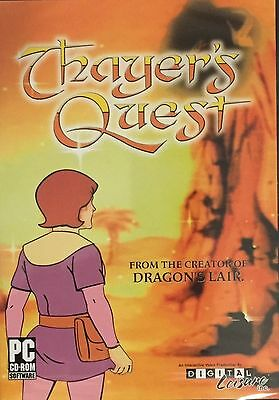 Thayer's Quest PC From Creator Of Dragon's Lair BRAND NEW