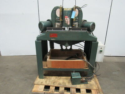 """PISTORIUS MN-200 12"""" Double Miter Saw 1-1/2 HP 208-230/460V 3PH TESTED"""