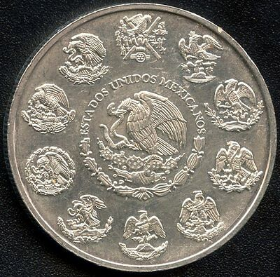 2004 Mexico 1 Ounce Silver Coin ( 31.1 Grams .999 Silver)