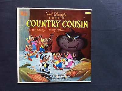 """Walt Disney's Story of the Country Cousin (after Aesop - way after) (US-12"""" LP)"""