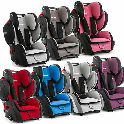 Recaro YOUNG SPORT HERO convertible car seat 9-36 kg 20-79 lbs Made in Germany