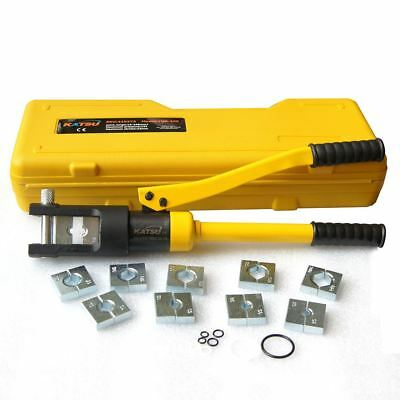416373 Manual Hydraulic Electric Cable Wire Terminal Crimping Tool Die Set 240mm