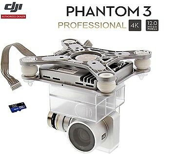 DJI Phantom 3 Professional Pro Drone - NEW 4K Camera, Gimbal & 16GB MicroSD