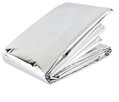 LARGE 2M EMERGENCY FOIL BLANKET Accident/Hypothermia Thermal First Aid Survival