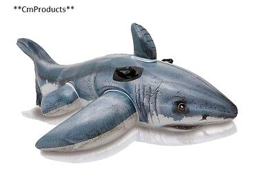 """Intex Great White Shark Ride On, 68"""" X 42"""", for Ages 3"""