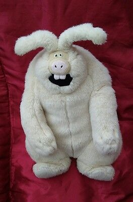 Rare Large Wererabbit Were Rabbit Soft Toy Beanie Plush From Wallace And Gromit