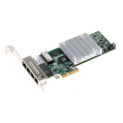 HP NC375T Quad Port PCIe x4 Gigabit Ethernet Card // 539931-001