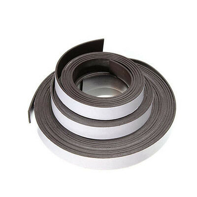 3/6/15ft Rubber Self Adhesive Flexible Magnetic Tape Stripe Craft DIY Strip Roll