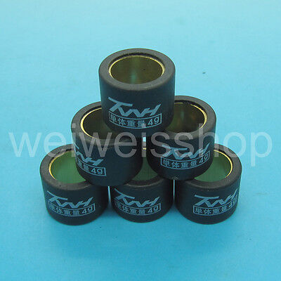 TWH Performance Racing Pulley Roller Weight 4g 16×13 GY6 49 50 80 QMB139 139QMB