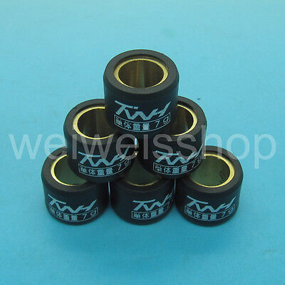 TWH Performance Racing Pulley Roller Weight 7g 16×13 GY6 49 50 80 QMB139 139QMB