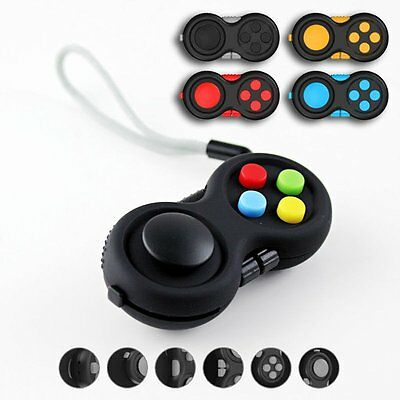 New Fidget Hand Shank Pad Spinner ADHD Autism Anixety Stress Relieves Toy Random