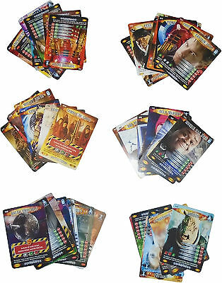 USED Doctor Who Battles In time Card Game Bundle Of Approx. 147 Cards (D.T)