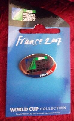 FRANCE  2007 Rugby World Cup in France Pin Badge RARE