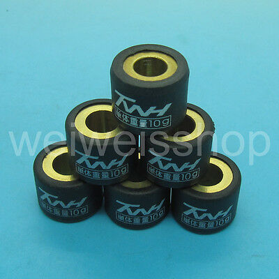 TWH Performance Racing Pulley Roller Weight 10g Honda DIO 50cc 2T ZX50 SE50 SK50