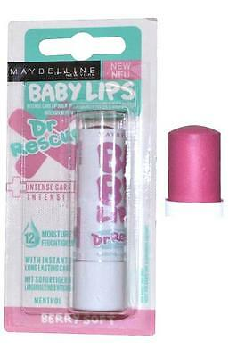 Gemey Maybelline - Baume à Lèvres - Baby Lips - Dr Rescue - Berry Soft