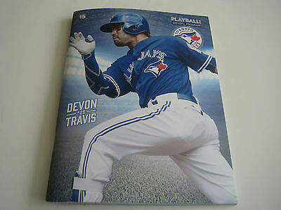 July 25 - 27 2016 San Diego Padres @ Toronto Blue Jays Playball Program